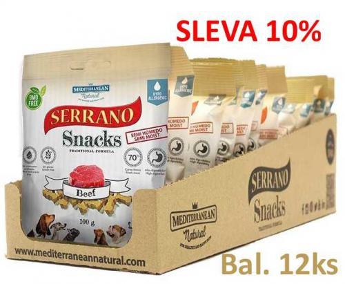 Serrano Snack for Dog Beef 100 g (12 ks) AKCE 10 %