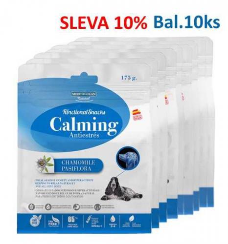 Calming uklidòující pamlsek pes 175 g (10 ks) - AKCE 10 %