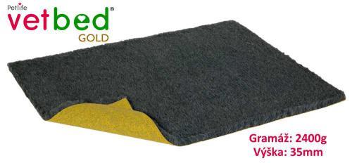Vetbed Gold grafitová role 10 x 1,5 m, vlas 35 mm