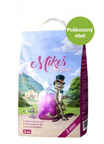 Mikeš Parfum hrudkující s vùní 5 kg - SLEVA 15 % (poškozený obal)