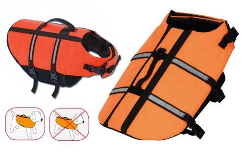 Záchranná/plovací vesta pes M 35 cm