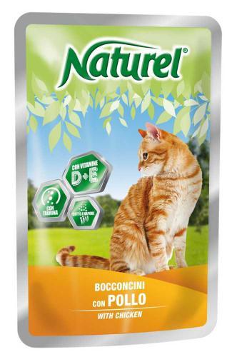 Naturel Cat Chicken, kapsièka 100 g