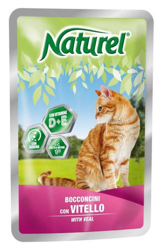 Naturel Cat Veal (telecí), kapsièka 100 g