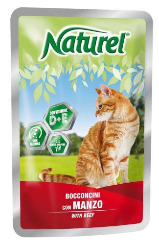 Naturel Cat Beef, kapsièka 100 g