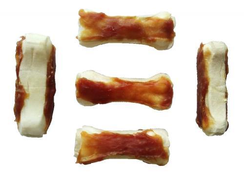 Kost buvolí obalená kachním masem 5 cm (5 ks)