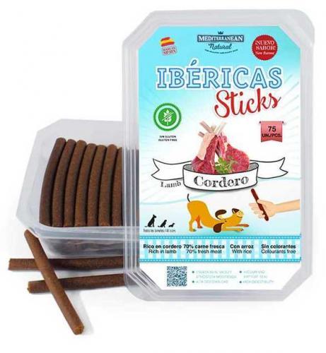 Ibéricas Sticks Dog Snack Lamb (75 ks)