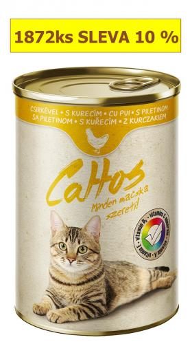 Cattos Cat kuøecí, konzerva 415 g