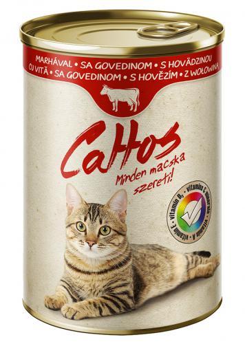 Cattos Cat hovìzí, konzerva 415 g