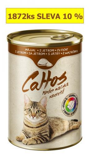 Cattos Cat játra, konzerva 415 g
