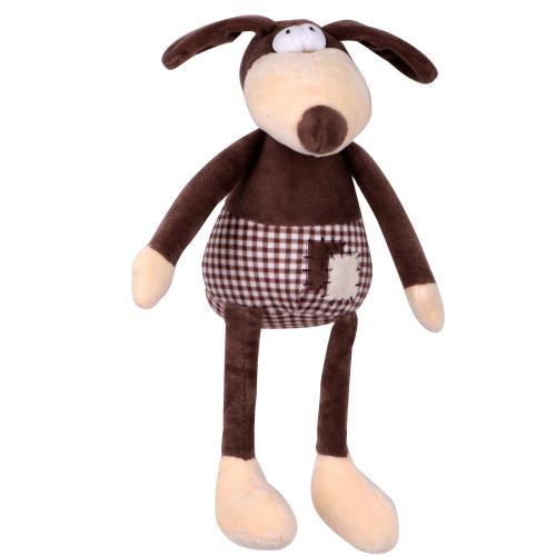 Hraèka pes - plyšový pes pískací 30 cm