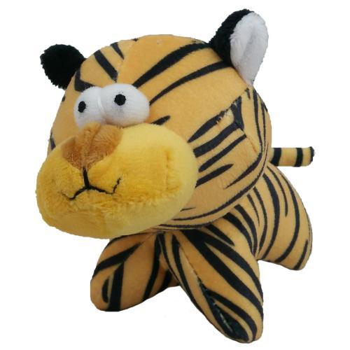 Hraèka pes - plyšový tygr pískací 12 cm