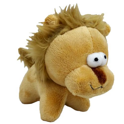 Hraèka pes - plyšový lev pískací 12 cm