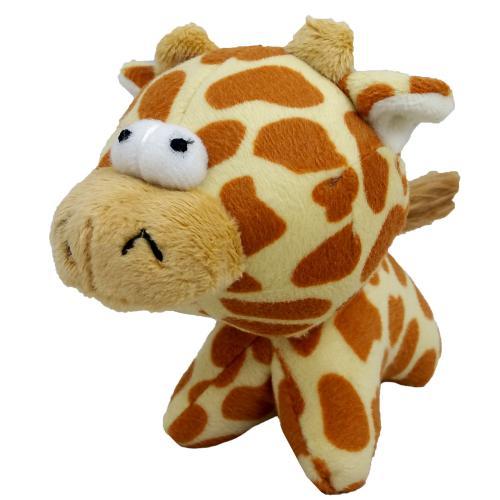 Hraèka pes - plyšová žirafa pískací 12 cm