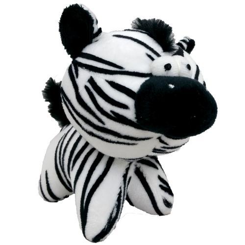 Hraèka pes - plyšová zebra pískací 12 cm