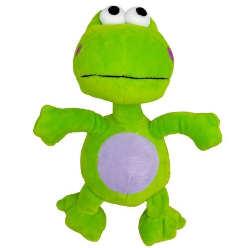 Hraèka pes - plyšová žába pískací 20 cm
