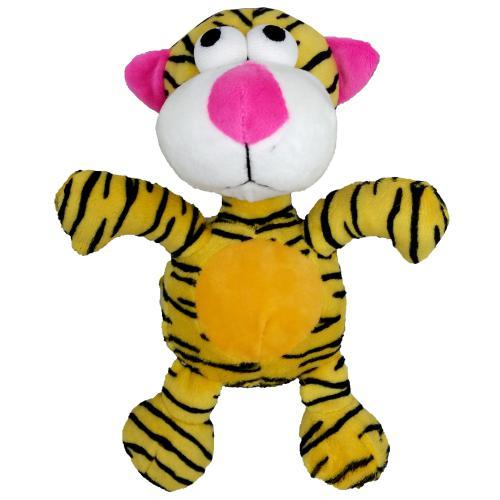 Hraèka pes - plyšový tygr pískací 20 cm
