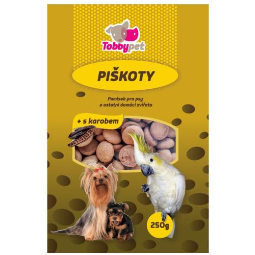 Piškoty krmné s karobem Tobby 250 g