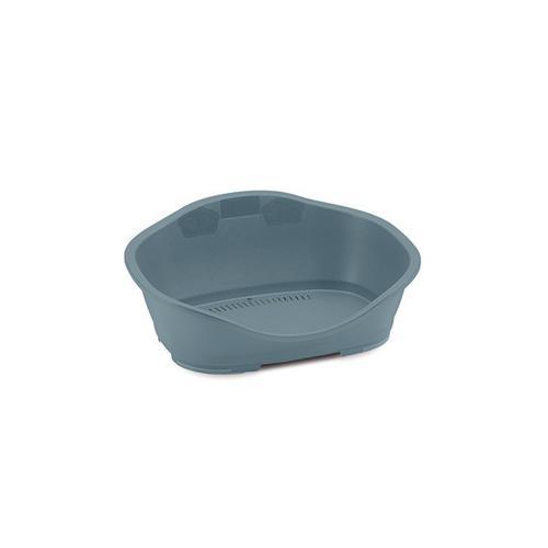 Pelíšek plast 1 modro-šedá 56,5x42x24,2