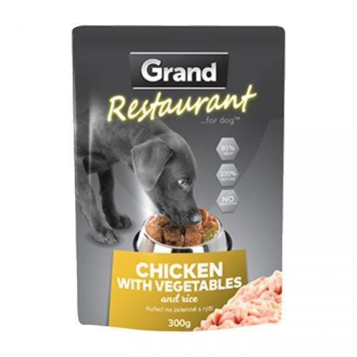 Grand Deluxe Restaurant kuøecí na zeleninì, kapsa 300 g