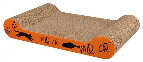 Škrábací karton Wild Cat oranžový