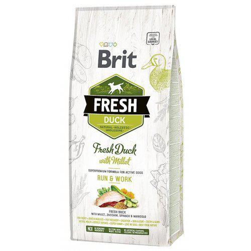 Brit Fresh Duck & Millet Active Run & Work 12kg