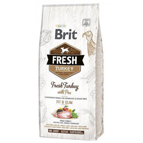 Brit Fresh Turkey & Pea Light Fit & Slim 12kg