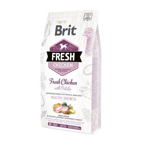 Brit Fresh Chicken & Potato Puppy Healthy Growth 2,5kg