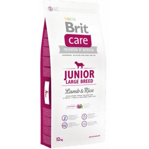 NEW Brit Care Junior Large Breed Lamb & Rice 1kg,3kg,12kg