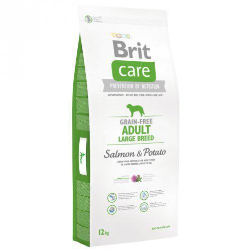 NEW Brit Care Grain-free Adult Large Breed Salmon & Potato 3kg,12kg