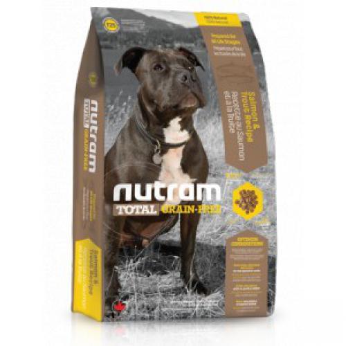 Nutram Total Grain Free Salmon Trout Dog - bezobilné krmivo, losos a pstruh, pro psy