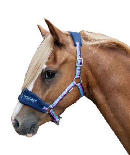 Stájovka HKM Funny Horses modrá shetty
