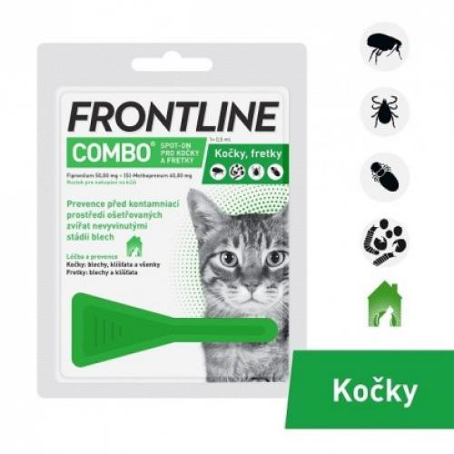FRONTLINE COMBO spot-on pro koèky - 1x 0,5 ml