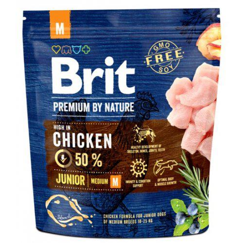 Brit Premium by Nature Junior M 1kg,3kg,15kg