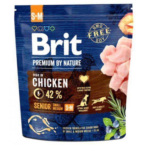 Brit Premium by Nature Senior S+M 1kg,3kg,8kg,15kg