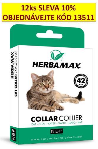 Herba Max Cat collar 42cm antiparazitní obojek