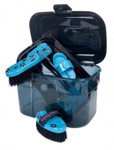 Box na èištìní HKM Funny Horses modrý