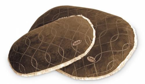 Nobby Ceno luxusní plyšový polštáø hnìdý 67x43cm
