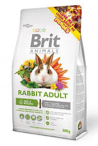 Brit Animals Rabbit Adult Complete bal.300g/1,5kg/3kg