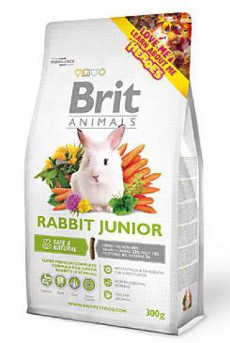 Brit Animals Rabbit Junior Complete bal.300g/1,5kg