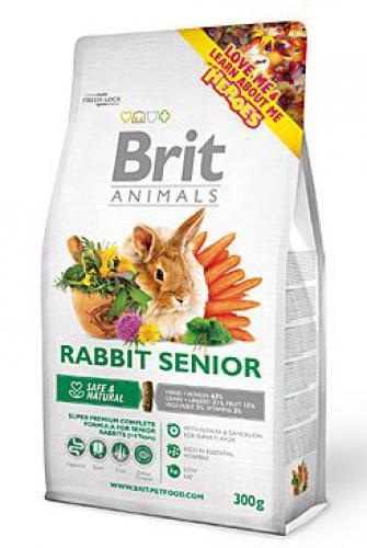Brit Animals Rabbit Senior Complete bal.300g/1,5kg