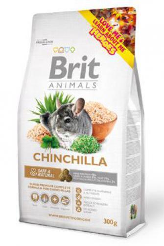 Brit Animals Chinchila Complete bal.300g/1,5kg