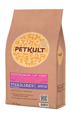 PETKULT cat STERILIZED bal.7kg