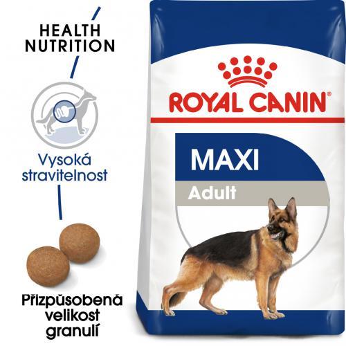 Royal Canin Maxi Adult  15kg dospìlý