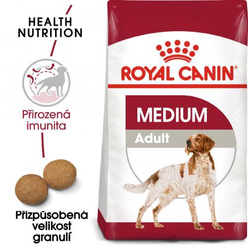 Royal Canin Medium Adult bal.4kg/15kg