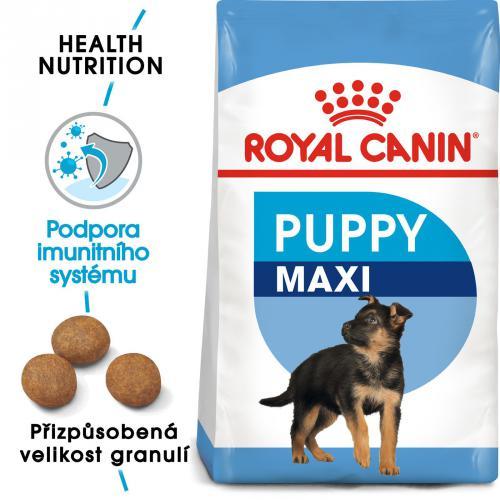 Royal Canin MAXI PUPPY bal,4kg/15kg
