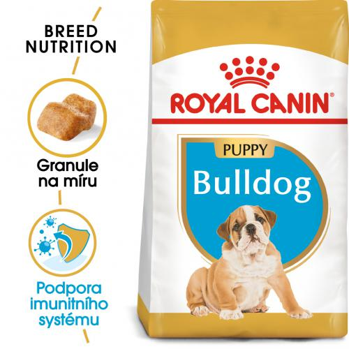 Royal Canin Bulldog Puppy bal.3kg/12kg