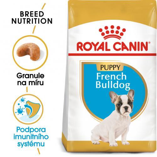 Royal Canin French Bulldog Puppy bal.1kg/3kg