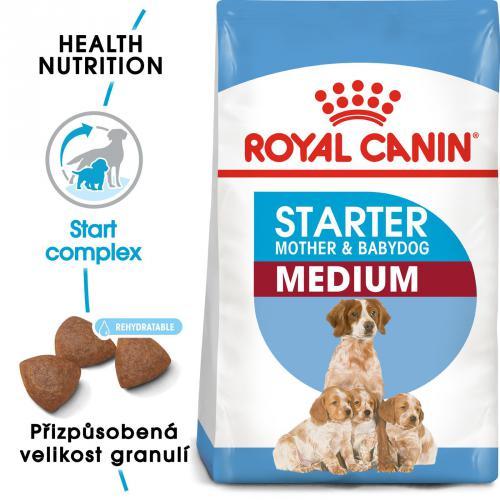 Royal Canin MEDIUM STARTER bal.4kg/12kg