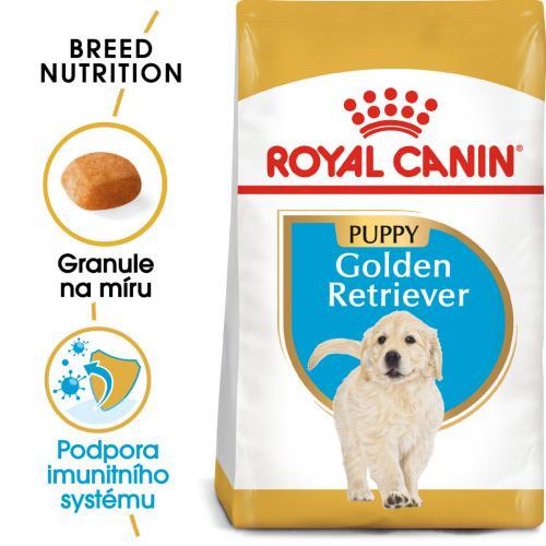 Royal Canin Golden Retriever Puppybal.12kg