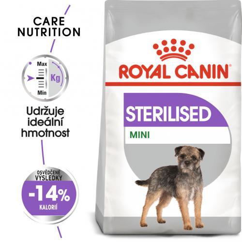 Royal Canin Mini Sterilised bal.1kg/3kg/8kg
